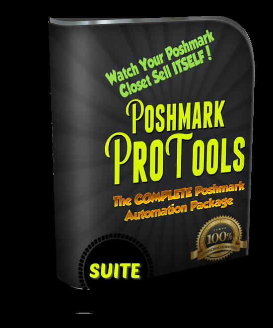 the ultimate poshmark bot package poshmark pro tools suite poshmark pro tools. Black Bedroom Furniture Sets. Home Design Ideas