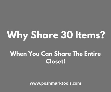 problems with poshmark 30 minute method
