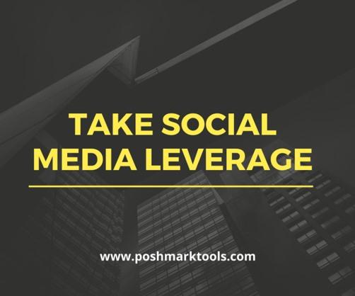 share poshmark product on social media