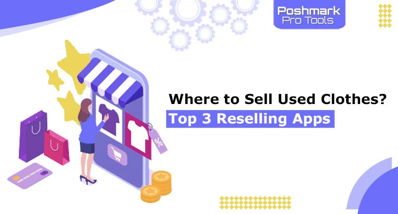 sell used clothes top 3 reselling apps
