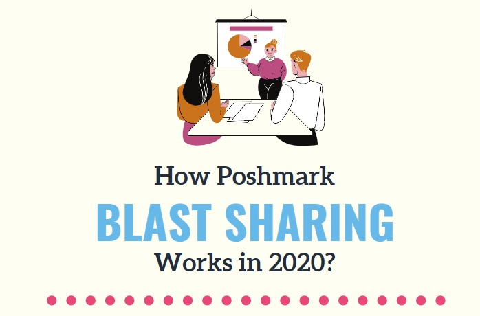 how poshmark blast sharing works