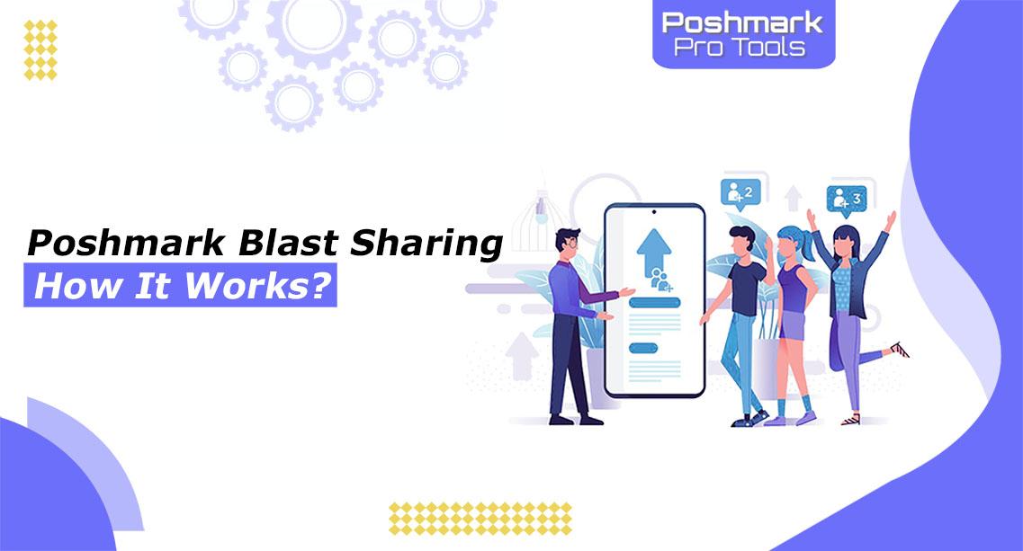 poshmark blast sharing